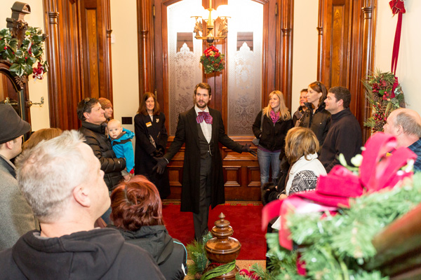 Alexander Ramsey House Christmas Tour