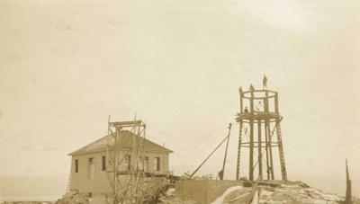 Split Rock Lighthouse Construction (1909-1910)