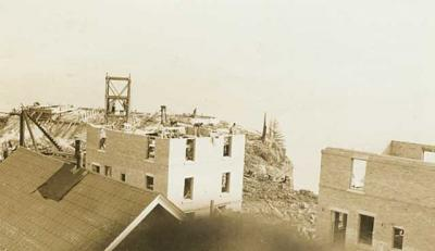 Split Rock Lighthouse Construction (1909)