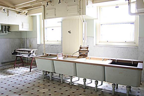 2008 Photo Of The Original Laundry Room Wash Tubs