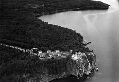 Aerial View Split Rock Lighthouse (1959)